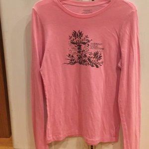 COPY - Women's pink long sleeve American Eagle sh…